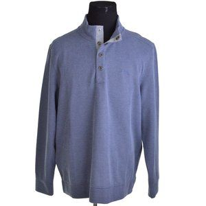 NEW Tommy Bahama Mens Sweater XL Light Blue Note